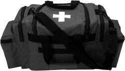 First Aid Responder EMS Emergency Medical Trauma Bag Deluxe $28.99