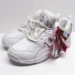 Vintage 90s Spalding White Tennis Shoes Sneakers Womens 7 NWT NEW 1997 Workout $34.99