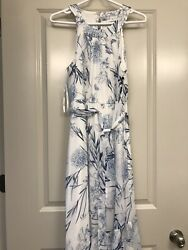 New With Tags Beautiful Calvin Klein White Maxi Dress Size: 8 $29.99