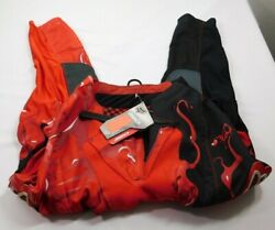 Fox 360 Motocross Racing Pants Mens Size 30 Dirt Bike Red Black $159 MSRP NWT $99.95