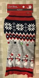 Holiday Pet Dog Large Warm Winter Sweater $12.00