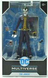 McFarlane Toys DC Multiverse Arkham Asylum The Joker Action Figure $28.49