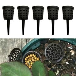 50 100pcs Nursery Pots Fertilizer Baskets Park Plant Aquarium Garden Pack Sets C $12.56