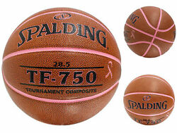 Spalding TF 750 Tournament Composite Leather Breast Cancer Awareness Basketball $18.86