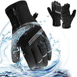 Mens Women Winter Thermal Ski Snow Warm Gloves Waterproof Cycling Touch Screen $11.95