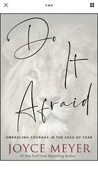 Do It Afraid: Embracing Courage in the Face of Fear Joyce Meyer Hardcover $15.95