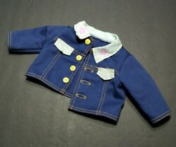 BARBIE DOLL CLOTHES CUDDLY SOFT KELLY 16quot; REPLACEMENT JEAN JACKET ONLY 1999 HTF $19.94