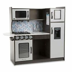 Melissa amp; Doug Wooden Chef's Pretend Play Toy Kitchen – Charcoal $291.77
