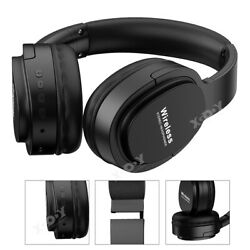 Bluetooth Wireless Stereo Headphones Bass Headsets Over Ear Noise Cancelling $15.99