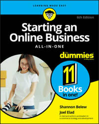 Starting an Online Business All in One For Dummies For Dummies Bus VERY GOOD $25.40