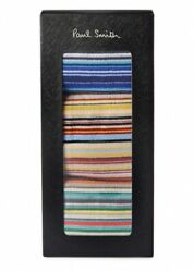 PAUL SMITH Multi Stripe Pack of 3 Classic Socks in Box *Made in England* GBP 41.99