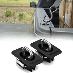 Ford Flush Truck Bed Tie Downs Heavy Duty Anchors Side Wall Hook Rings Mount $39.99