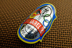 REPRODUCTION Vintage style PINARELLO road mountain bicycle frame head badge $9.99