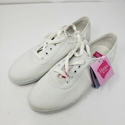 Vintage Hanes Womens Sport Casual White Sara Shoes 6038972 Size 8.5 W New Rare $43.65