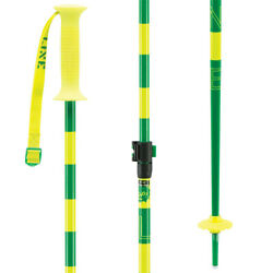 Line Getup Junior Adjustable Ski Poles Yellow Green $34.60