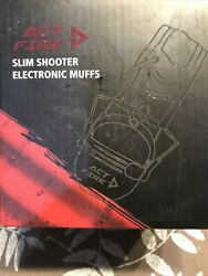 Act Fire Slim Shooter Electronic Muffs $36.00