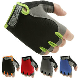 Road MTB Bicycle Cycling Half Finger Gym Gloves Road BMX Bike Riding Fingerless $7.69