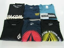 Volcom Mens Long Sleeve Tshirts Nwt $19.99