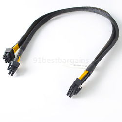 Power Cable GPU Cable 10Pin to 6Pin 8Pin Drive Backplane for HP ML350 G8 50cm $17.50
