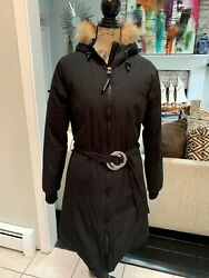 Authentic Canada Goose Whistler Small. Black Long Women Coat Excellent Cond. $475.00