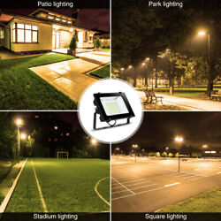 LED Solar Flood Light 50W Outdoor Fixtures Lamp Security Motion for Garden