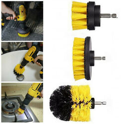 3Pcs 1Pc Power Scrubber Electric Drill Brush Tile Floor Glass Durable Clean Tool $5.20