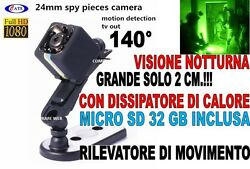 Micro Cameras SQ11 32GB Infrared Full HD Bug Wide Angle Concealable $55.48