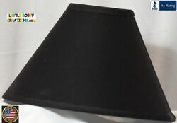 BLACK LAMP SHADE Clip On $65.95 LAST ONE $65.95