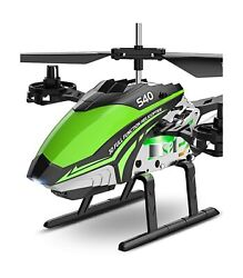 RC Helicopter SYMA S40 Helicopter with 4 Channel Aircraft Sturdy Alloy Mate... $71.74