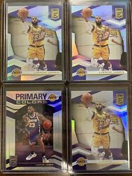 2019 20 Donruss Elite Lebron James Lot With Primary Colors Insert. Lakers $30.00