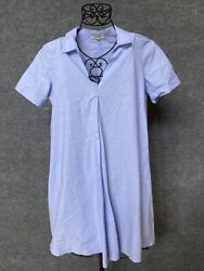 Madewell Oversized Blue Dress. Size Medium