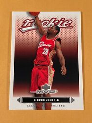 2003 LEBRON JAMES ROOKIE UPPER DECK MVP #201 RC $149.99