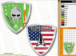 COIN ATLAS V NROL 101 SPACE MISSION U.S. SPACE FORCE WARRIOR SUPPORT $10.00