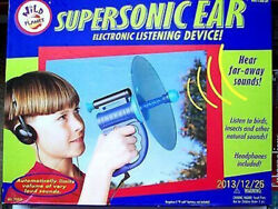 Supersonic Ear Electronic Listening Device Toy by Wild Planet 1996 Vintage $29.99