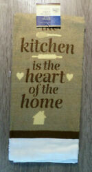 Home Collection Kitchen Themed Kitchen Towels 15x25 in. Brown $5.95