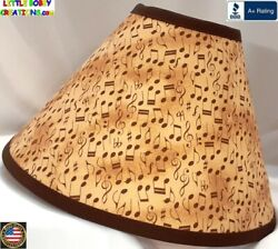 MUSIC CLEF NOTES LAMP SHADE Clip On $65.95 LAST ONE $65.95
