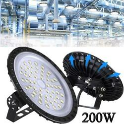 200W 200 Watt UFO LED High Bay Light Shop Commercial Lighting Bulb Lights Bulb