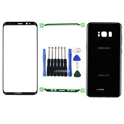 Front Screen Lens Back Glass Replacement Repair Kit for Samsung Galaxy S8 S8 $24.99