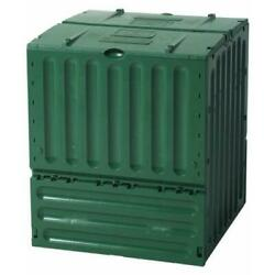 Exaco Eco King 160 Gal. 600 Recycled Plastic Compost Bin Green $173.36