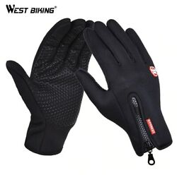 2020 Hot Winter warm Touch Screen Gloves Motorcycle Riding Phone Texting Gloves $6.60