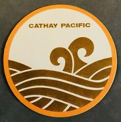 Cathay Pacific Airlines Coaster Cardboard $5.00