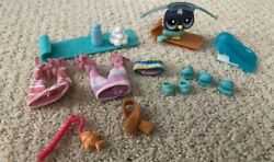 Authentic LPS Ski and snow set Everything included $10.50