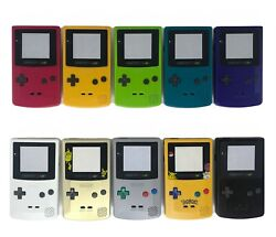 Nintendo Gameboy Color Shell Housing Replacement GBC Game Boy IPS Ready Trim $10.99