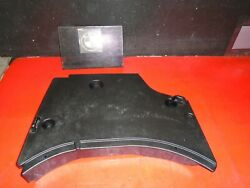 99 1999 BMW E36 323i CONVERTIBLE TRUNK FLOOR PLASTIC TRAY COVER TRIM OEM BLACK $80.00