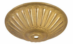 Bamp;P Lamp Large Decorative Cast Brass Canopy $18.02