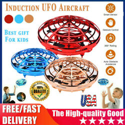 Mini Drone Quad Induction UFO Flying Toy Hand Controlled RC Kids Xmas Gifts US $16.46