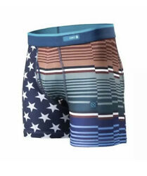 STANCE BOYS AMERICANA BOXER BRIEF Underwear Sz Small Poly Blend 6 8 Year NWT $9.99