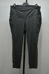 The North Face Perfect Core Novelty High Rise 7 8 Tights Women#x27;s Size XL Black $34.00