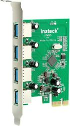kt4005 Inateck 4 Ports USB 3.0 Expansion Card USB 3.0 Express Card $11.50