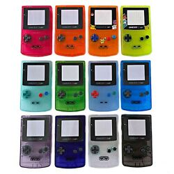 Nintendo GameBoy Color Shell Housing Replacement Game Boy IPS Ready Transparent $10.99